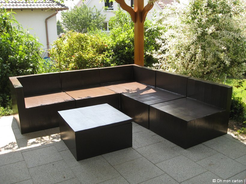 oh mon carton terrasse. Black Bedroom Furniture Sets. Home Design Ideas