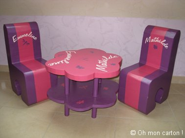 table et chaises pour enfant pictures. Black Bedroom Furniture Sets. Home Design Ideas