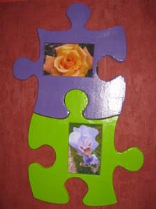Cadres photos puzzle